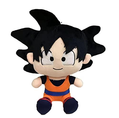 agzhu 20Cm Dragon-Ball Ultra Instinct Son-Gokou Juego Anime Peluches Muñeca de Peluche Suave Juguetes para niños Regalo del día de los niños