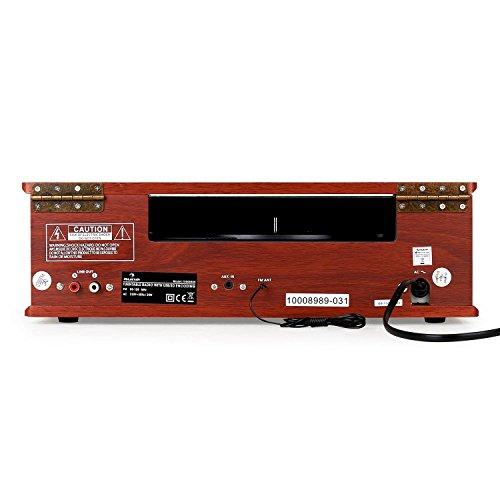 auna TT-92W - Tocadiscos, Reproductor de vinilos, Altavoces estéreo Integrados,...