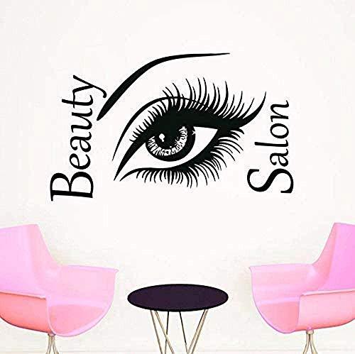 Vinilos decorativos adhesivos de diseño personalizado 37X59Cm big eye art modern