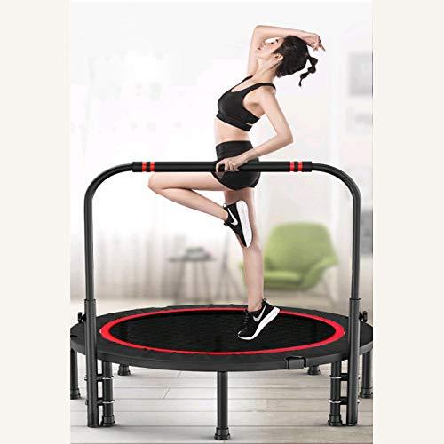 HWGNT Trampolino Sportivo per Adulti 3-5 Braccioli Altamente Regolabili del Peso di 325 kg, Adatto per Palestre Interne Ed Esterne