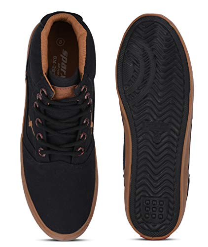 Product Image 5: Sparx Men's SC0282G Black Tan Sneakers 6