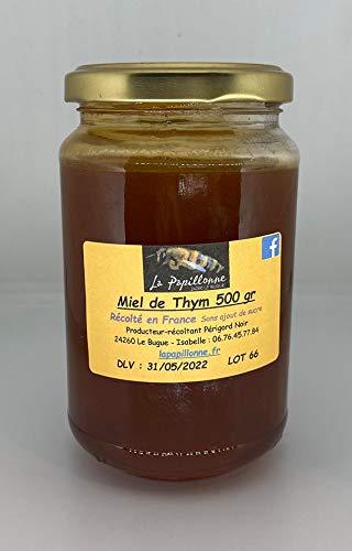Miel de thym fabriqué de manière artisanale au Bugue en Dordogne (500g)