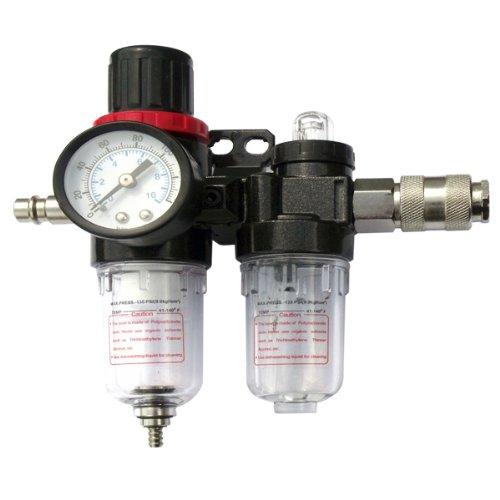 Mauk Druckluft Wartungseinheit Wasserabscheider + Öler + Druckregulierung