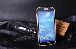 Alu Bumper para Samsung Galaxy S4 i9500 i9505 Case Caja Caso Aluminium Metal Cover (Gold) NUEVO