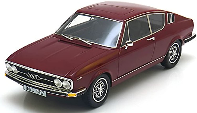 Audi 100 Coupe 1970 dunkelrot lim 400, 1 18 KK Scale B01BYIY7HI Lebensecht    Guter Markt
