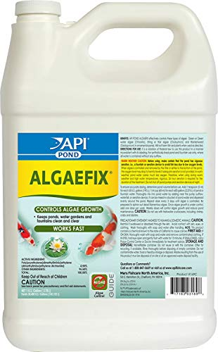 API Pond AlgaeFix, 1 Gallon, 2 Pack