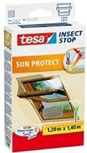 tesa 5 x vliegenhor Insect Stop voor dakramen met zonwering 1,20 x 1,40 m antraciet/grijs