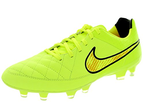 Nike Tiempo Legacy FG Fussballschuhe volt-volt-hyper punch-black - 41