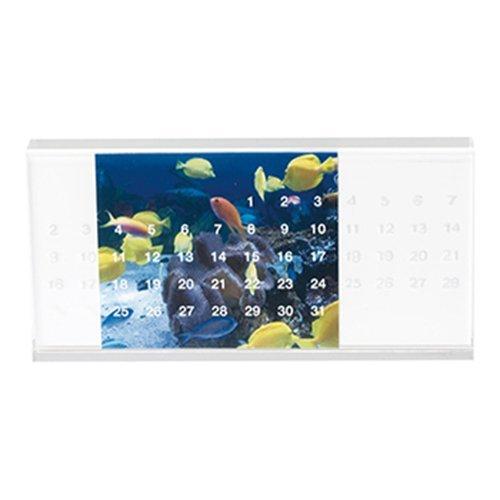 (マークレススタイル)MarklessStyleiFデザイン賞受賞アクリル万年カレンダー(ホワイト)
