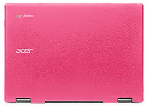 mCover Carcasa rígida para Acer Chromebook C721 o Spin 311 CP311-2Hxxxx de 11,6 pulgadas (No compatible con ningún otro modelo de acer) (rosa)