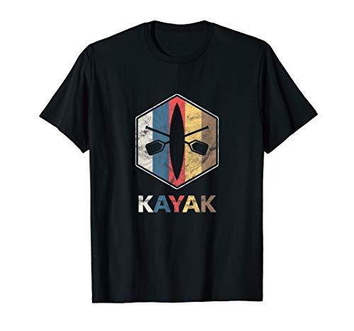 Kanusport Kayak Paddeln Paddler Kajak Kanu Paddels Geschenk T-Shirt