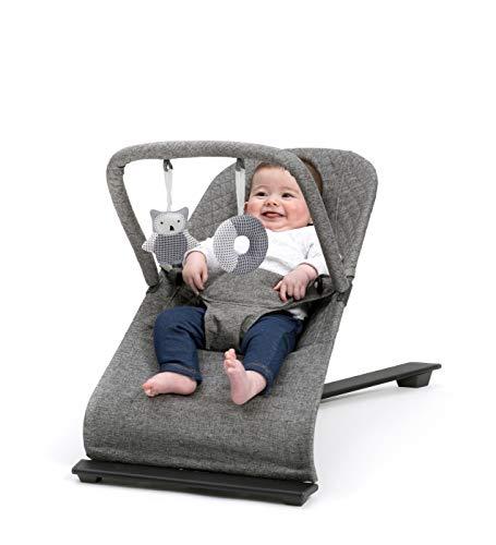 BABYLO Gravity Baby Bouncer - Grey