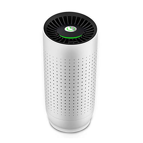 Air Purifiers with True H13 HEPA Filter for Home and Car, Bedroom Air Cleaner with Smart Sensor Probe, Quiet Purifiers for Pet Hair, Dander, Pollen, Smoke, Dust, Airborne, Contaminants, Odors