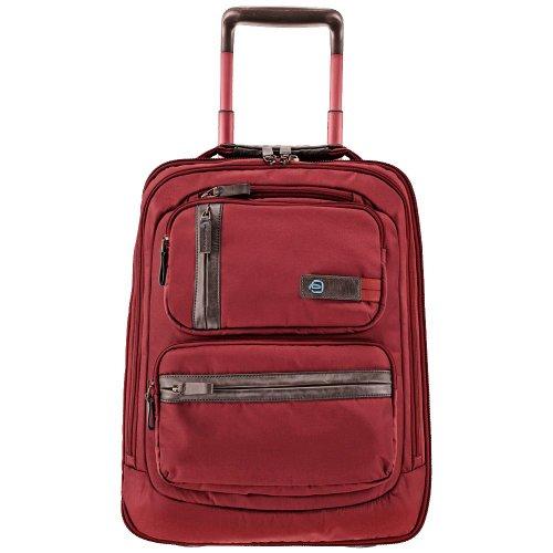 Piquadro Piccolo Nimble Trolley, 37x50.5x23 cm, Rosso (Rosso)