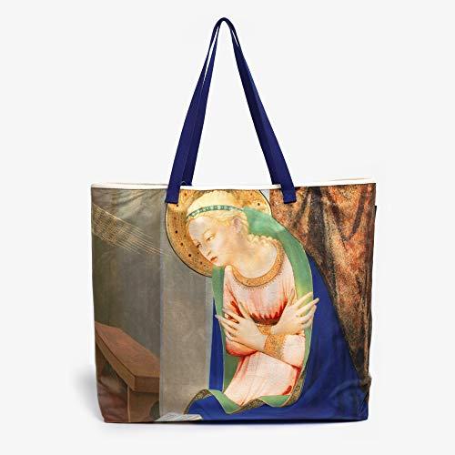 """Bolsa Magnum Museo del Prado """"Ángel y Virgen-Fra Angelico"""""""