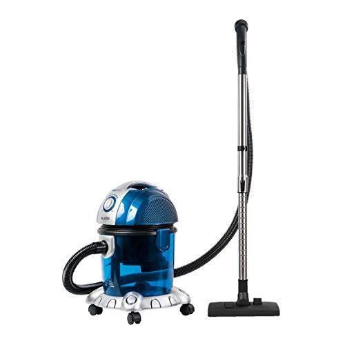 Flama Aspiradora con Filtro de Agua 1667FL, 1600W, Aspira Sólidos y Líquidos, Filtración por Agua, Nivel de Ruido de 70 dB, Filtro HEPA Antialérgico y Lavable