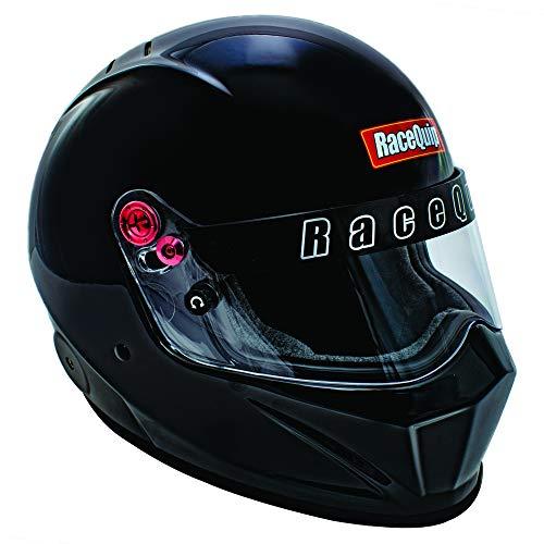 RaceQuip Full Face Helmet VESTA20 Series Snell SA2020 Rated Gloss Black Large 286005