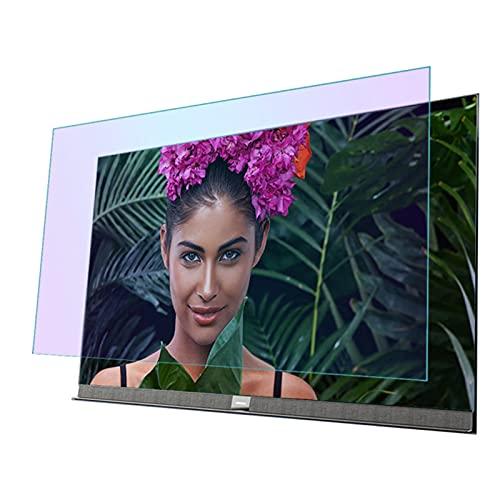 GFSD Protectores de Pantalla de TV, Anti Luz Azul/Anti Radiación, for LCD, LED, 4K OLED Y QLED Y Pantalla Curva, Filtro Antideslumbrante Aliviar La Fatiga Ocular