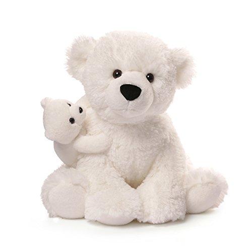 GUND Polar Bear & Baby Plush, 12'