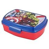 ILS I LOVE SHOPPING Contenitore Termico Porta merenda Scatola Sandwich Box per Bambini (Avengers Rolling Thunder Marvel Supereroi)