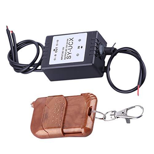 Wakauto Módulo de Controlador Drl con Controlador de Luz Diurna Led con 16 Modos de Control Inalámbrico Color Mezclado