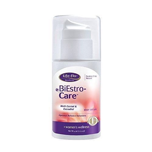 Life-Flo BiEstro-Care | Estrogen Cream w/ Estriol USP & Estradiol USP | Physician-Developed Cream for Optimal Balance | 4-oz Pump