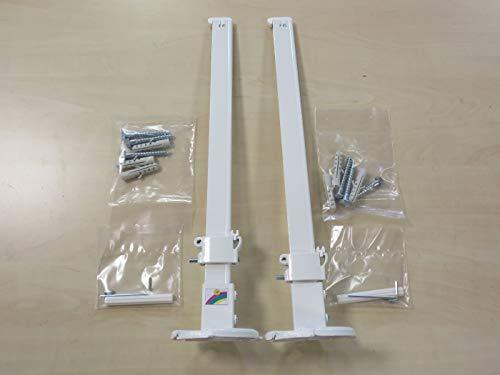 2 x Wemefa Standkonsole für Plattenheizkörper Heizkörper Standfuß + Zubehör