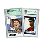 Lionel Messi 2006 Showcase Prospects Cristiano Ronaldo Rookie Review Card PGI 10. rookie card picture