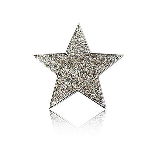 Glamexx24 Brosche Schmuck Magnet Anhänger Button für Kleider Schals Ponchos