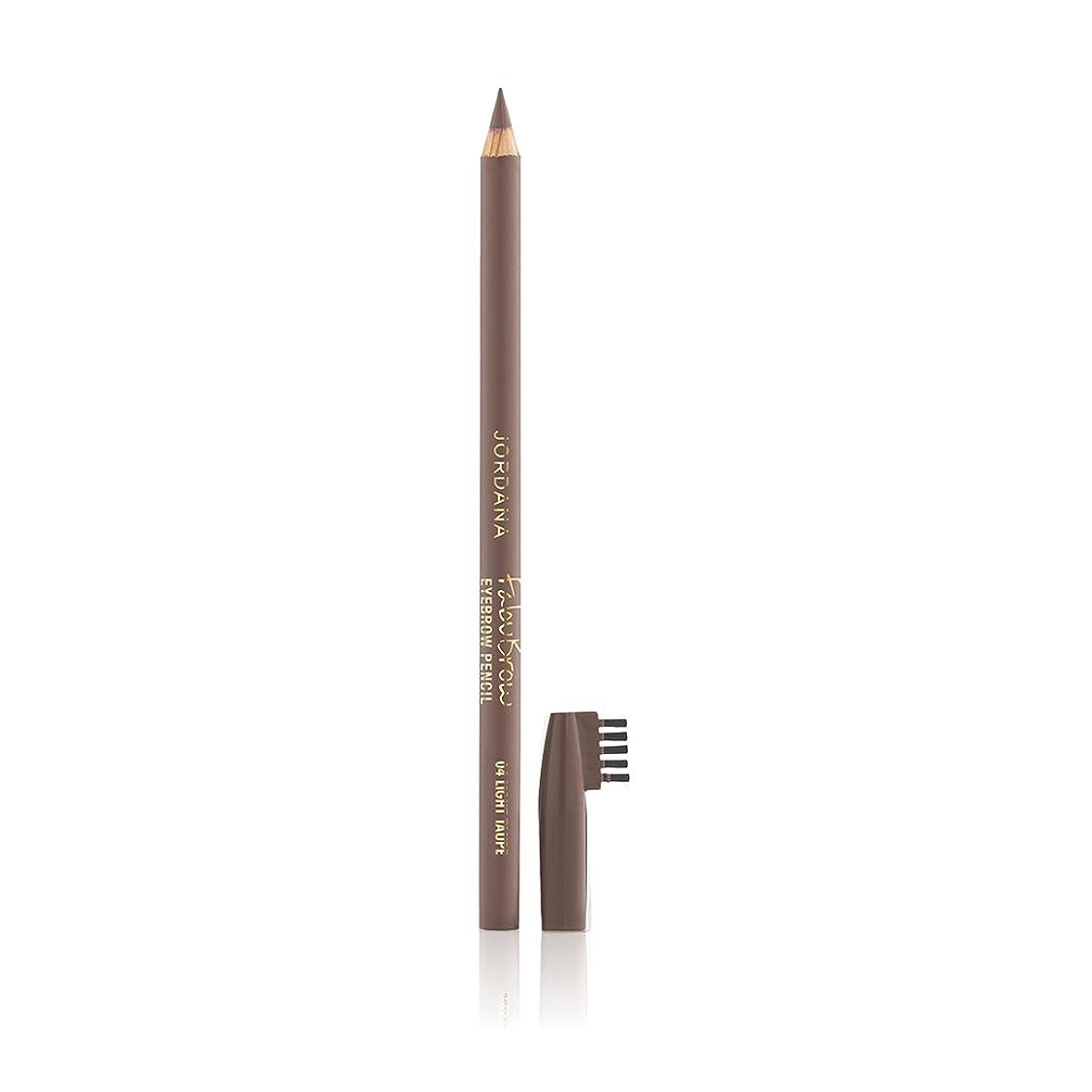 路地他の日降ろすJORDANA Fabubrow Eyebrow Pencil Light Taupe (並行輸入品)