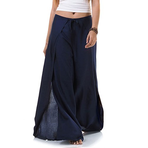 Princess of Asia Thai Hose Wickelhose Hosenrock Wickelrock Blau