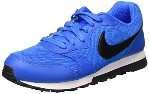Nike Herren MD Runner 2 Low-Top, Blau (Photo Blue/Blk-TTL Orng-White), 36.5 EU