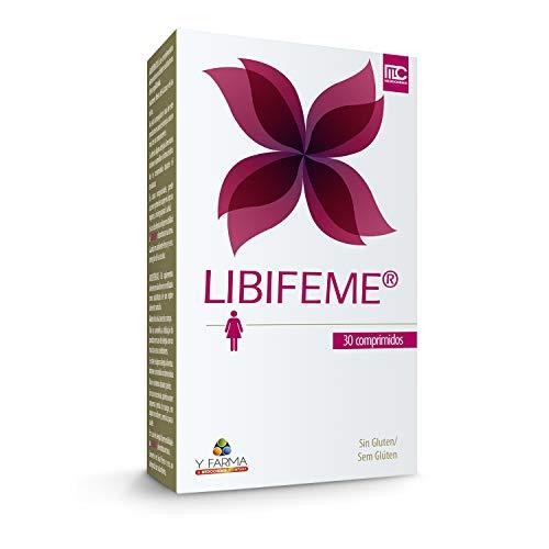 LIBIFEME Suplemento Especifico que Reduce la Sequedad Vaginal y Mejora la Lubricacion en la Edad Fértil de la Mujer - Ayuda a Mejorar la Sensibilidad y el Placer Sexual Femenino – 30 Pastillas