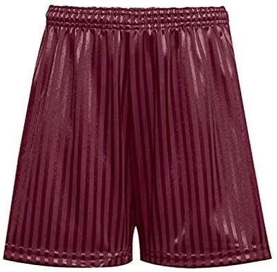 Home Crafts Shadow Stripe PE Shorts Men Women Boys Girls Summer Gym Football Cycling Indoor Outdoor Games Drawstring Shadow Stripe PE Shorts
