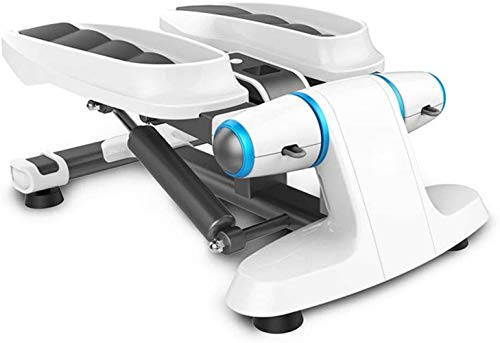 WANGCAI Indoor Fitness Stair Stepper Adjustable Mini Fitness Stepper Exercise Machine Cardio Exercise Trainer,Fitness Mini Stepper (Color : White, Size : 53.5x37x32cm)