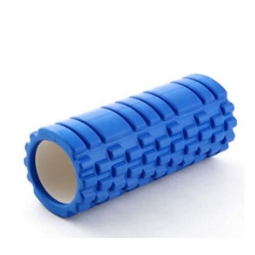 Chinashow Yoga Column Foam Shaft Hohl High Density Yoga Column Selbstmassage-Tool für Fitnessstudio Ideal für Pilates-Übungsroller, Blau
