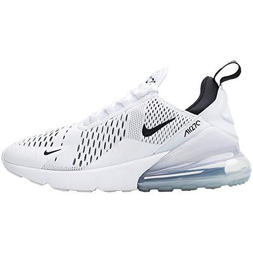 Nike Damen W Air Max 270 Laufschuhe, Weiß White Black White 100, 40 EU