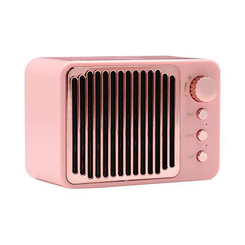 Ganghuo Pequeño altavoz retro inalámbrico Bluetooth portátil antiguo moderno estilo clásico altavoz...