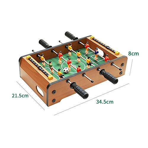 Buy Discount WANGLX Mini Foosball Table for Kids, Toys Mini Soccer Table for Home Play, Game Room, K...