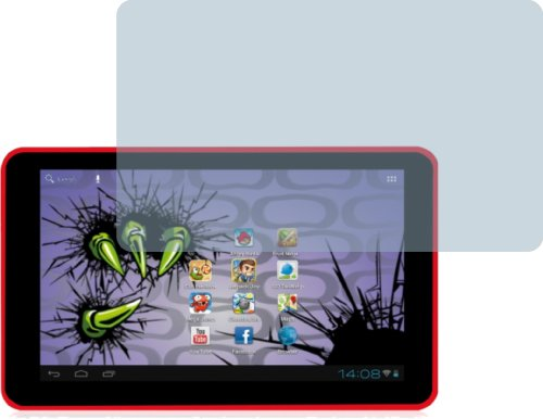 4ProTec I 2X Easypix MonsterPad EP770 ENTSPIEGELNDE Displayschutzfolie Bildschirmschutzfolie von - Nahezu blendfreie Antireflexfolie