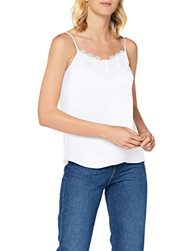 Naf Naf Menc10 Camiseta sin Mangas, Marfil (Écru 333), 36 para Mujer
