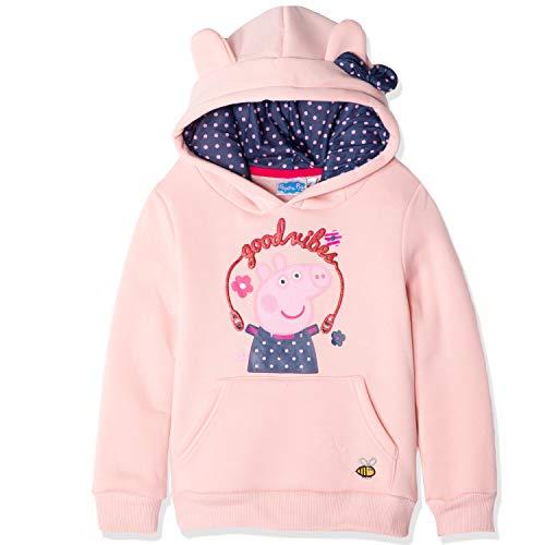 Peppa Wutz Sweatshirt Mädchen Hoodie Kapuzenpullover (Pink 2, 98)