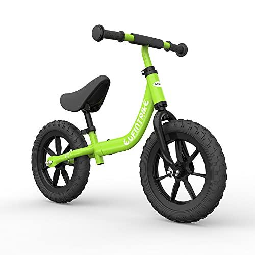 besrey Bici Bimba 2 Anni Bicicletta Senza Pedali 2 Anni - 5 Anni, Verde
