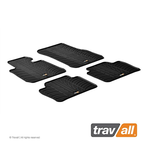 Travall Mats Tappertini Abitacolo Compatibili con BMW Serie 3 Berlina e Touring (2012-2018) TRM1181 - Tappertini Auto in Gomma Originali