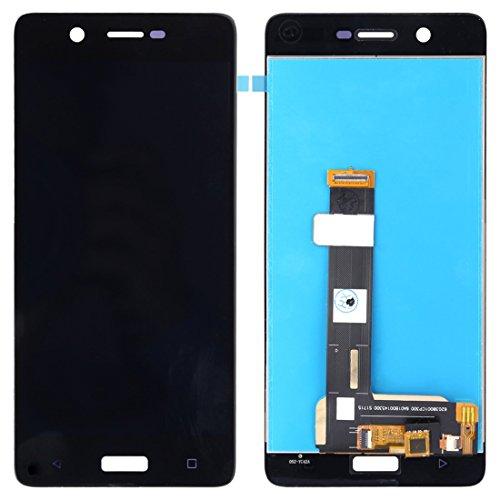 JUNXI Phone Pantalla LCD + Panel táctil for Nokia 5 TA-1024 TA-1027 TA-1044 TA-1053 (Negro) (Color : Black)