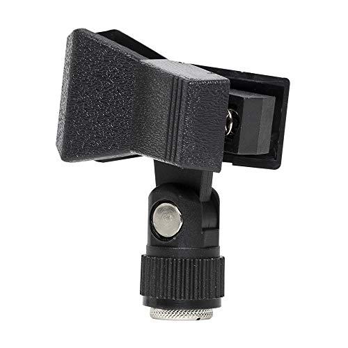 Stagg 16132 Mikrofonklemme (13-28 mm Durchmesser, MH-1AH,Gewinde-Adapter) schwarz