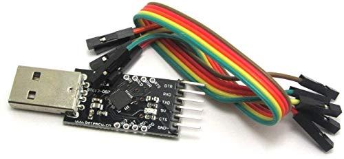 ARCELI Convertitore seriale del modulo da USB 2.0 a TTL 6PIN CP2102