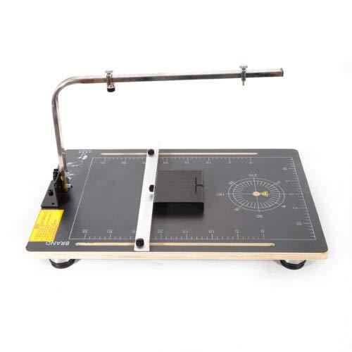 Styroporschneider - Heißdraht-Schneidegerät Thermocut ,24W 220V Heißdrahtschneider Cutter Tragbar Schaumstoff Schneidemaschine Styropor Draht-Styroschaum-Schwamm-Schneidemaschine
