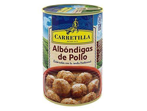 Albóndigas de pollo lata 415 g