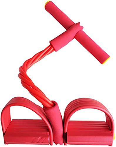 Bandas de Resistencia Entrenamiento físico Banda elástica Ejercicio de Resistencia Tirador de Tobillo para piernas Equipo Deportivo Profesional para el hogar Rosa